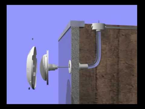 video montage projecteur plat pour piscine led seamaid
