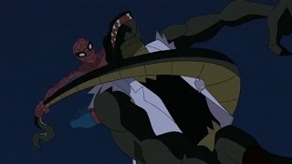 Spectacular Spider-Man (2008) Spider-Man vs Lizard part 2