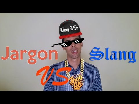 Slang vs Jargon in English, Informal vs Formal Language