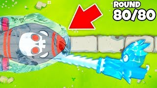 ULTRA BOOSTED Ice Monkey is OVERPOWERED! | INSANE BTD 6 Tower