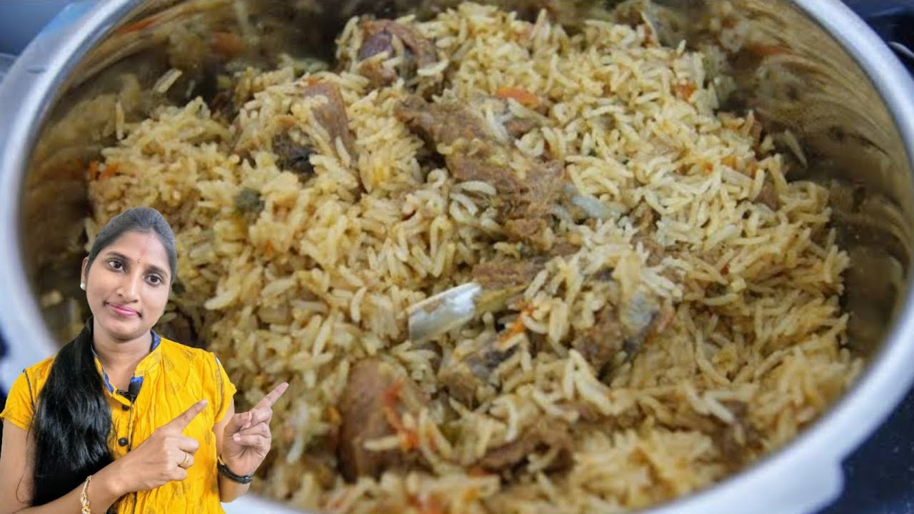 How To Prepare Mutton Dhum Biryani In Pressure Cooker Muslims
