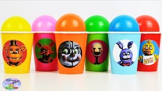 Five Nights at Freddys Balls Surprise Cups FNAF Sister Location Surprise Egg and Toy Collector SETC