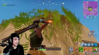 Fortnite. EPIC 1v1 ending. WINNING WITH CRAZY STAIRS.