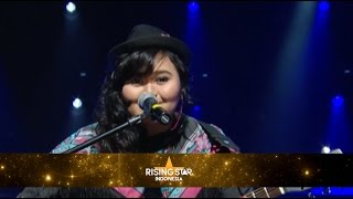 """Shaula """"What A Wonderful World"""" Louis Amstrong - Rising Star Indonesia Eps Live Audition 1"""