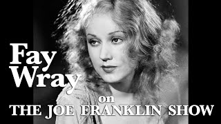 The Joe Franklin Show - guest Fay Wray