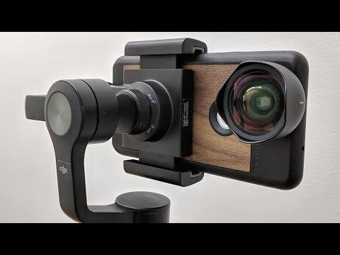 Google Pixel 2 4K video test! Moment lenses + DJI Osmo Mobile