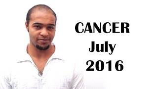 CANCER July 2016. Your Learning Journey finally brings Results!