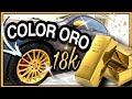 Llantas Oro brillo DipcolorsBCN Alfa GT.