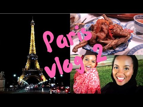 I TRIED FROG LEGS / Places To Visit in Paris