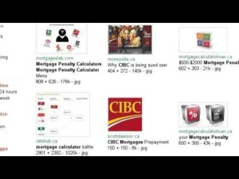 Mortgage Penalty Calculator TD, RBC, BMO, CIBC, Scotiabank - YouTube