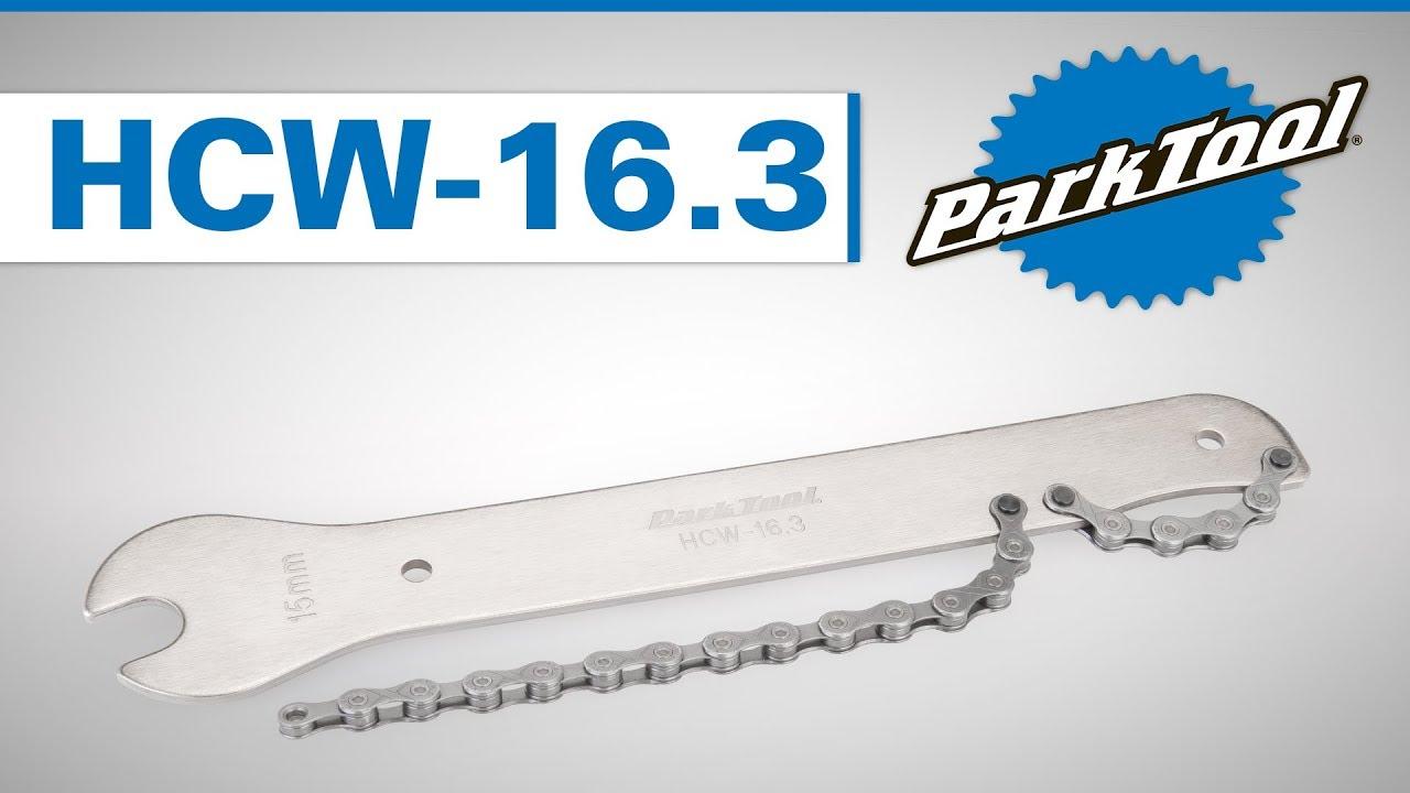 Park Tool HCW-16 15mm Pedal Spanner /& Chainwhip