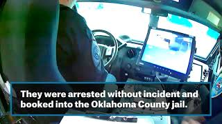 Edmond police release standoff video