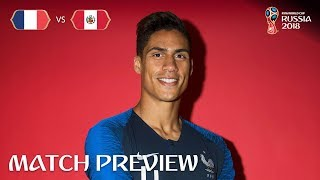 Raphael Varane (France) - Match 21 Preview - 2018 FIFA World Cup™