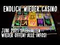 [NEU Juni 2021] Endlich wieder Spielo Spielautomaten in Deutschland Casinos geöffnet Direkt Book Ra