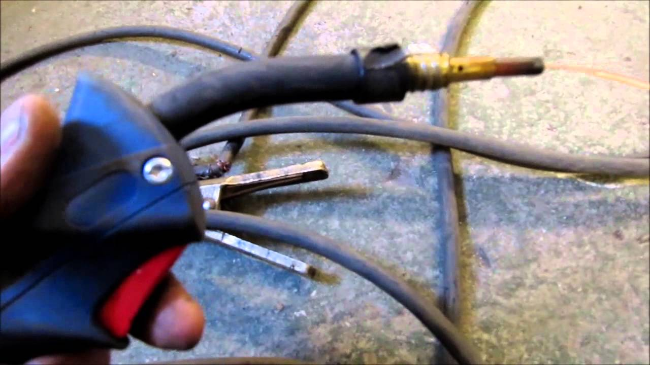 Mig Welder Leaking Losing Gas Solenoid Fix Repair Youtube Inverter Welding Machines Diagram
