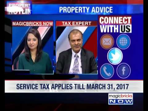Is service tax applicable on under-construction property?- Property hotline