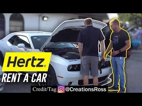 Taking A Rental Car To A Car Show