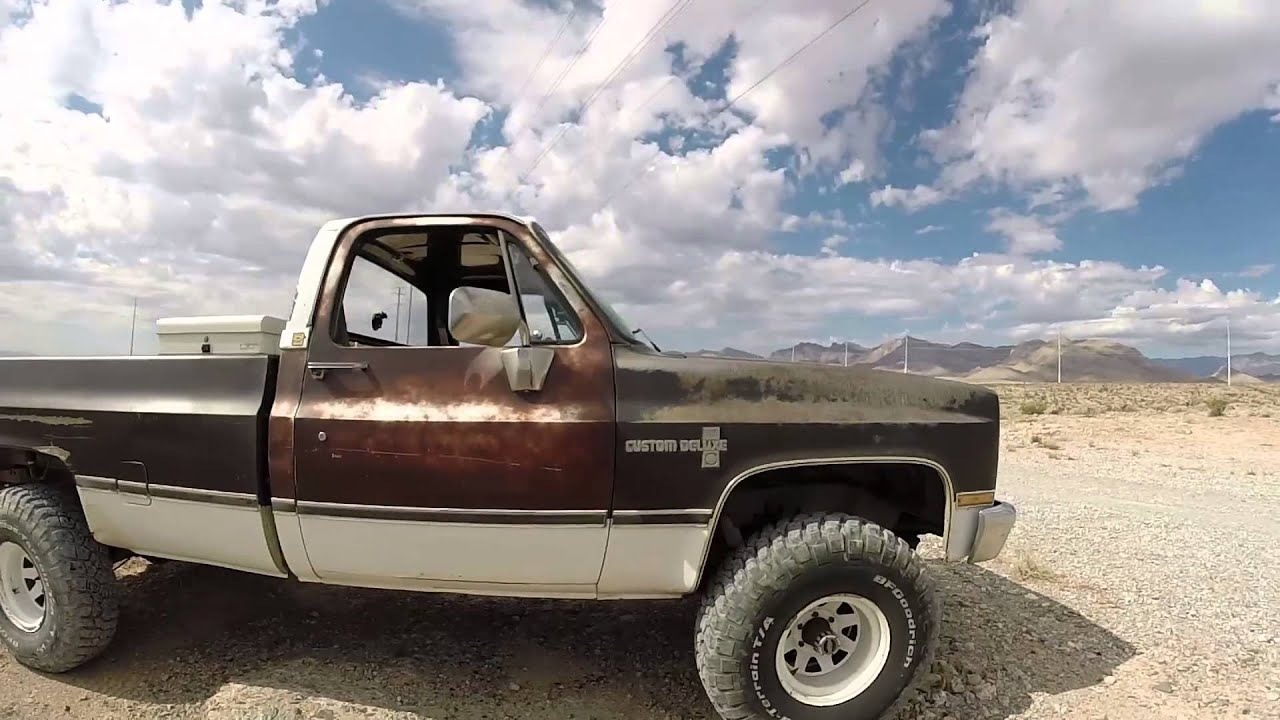 Chevy K10 update 8 10 14 Letting the LS sing!