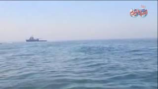 أخبار اليوم | لحظة وصول الغواصة الجديدة المياه الاقليمية المصرية