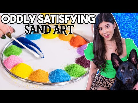 I tried Oddly Satisfying Sand Art! - Gloom