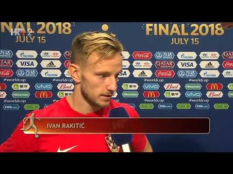 Izjave Ivana Rakitića i Dejana Lovrena nakon poraza u finalu svjetskog prvenstva | FIFA World cup