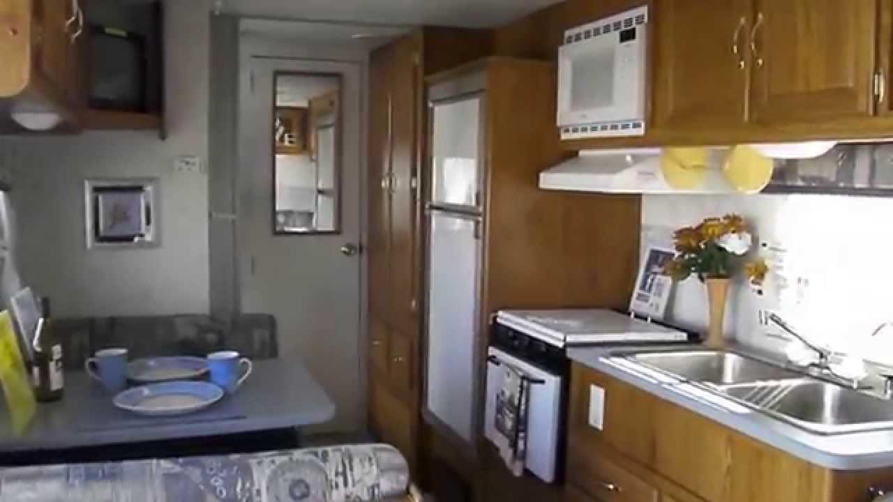 2001 FLEETWOOD TERRY 27X TRAVEL TRAILER FAMILY TRAILER  YouTube