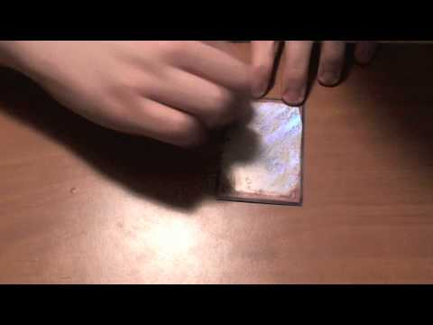 How to make holographic yugioh Oricas Part 1/3