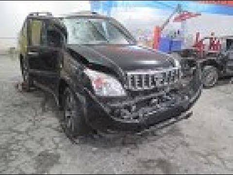 LAND CRAUSER  PRADO Кузовной ремонт в Армении/ Body Repair In Armenia