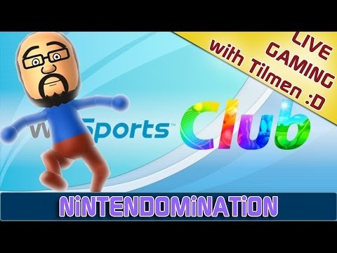 Live *Wii SPORTS CLUB* Online - Watch me FAILING *u*