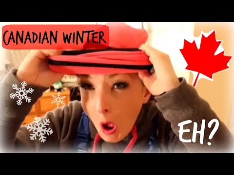 How To Dress For A Canadian Winter - OOTD, GRWM, RCMP