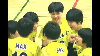 女子バレー宮部愛芽世(金蘭会)中川つかさ【全日本ジュニアオールスタードリームマッチ・MAX vs OCEAN 2nd】Volleyball girls Japan