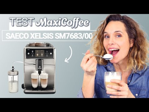 PHILIPS Saeco Xelsis SM7684//00 Machine espresso Super Automatique