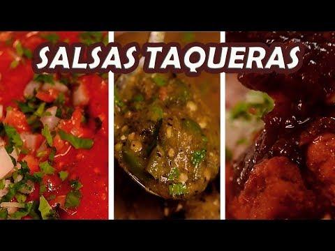 SALSAS para TACOS PERFECTOS 3+1 | TOQUE Y SAZÓN