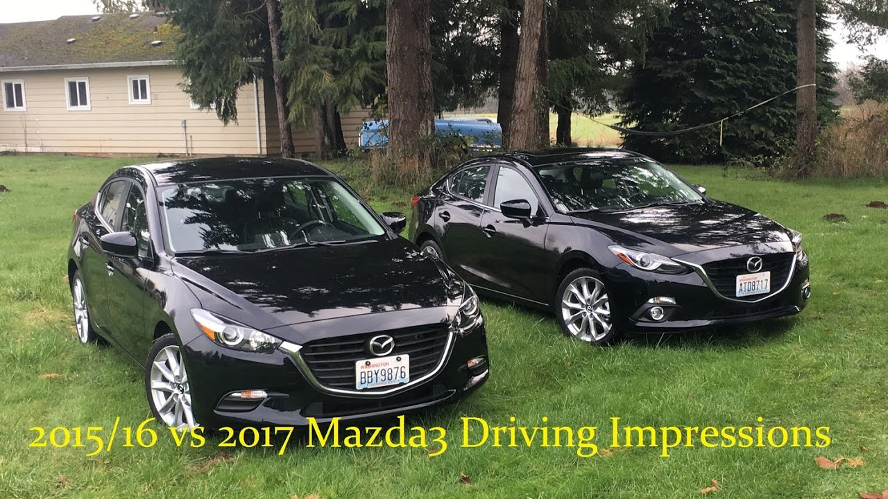 2016 Vs 2017 Mazda 3 Car Image Idea