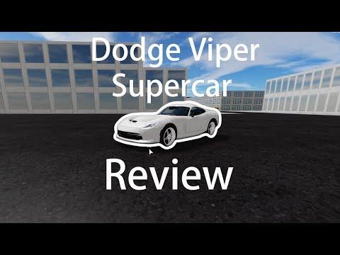 dodge-viper-supercar-review-in-vehicle-simulator-(roblox)