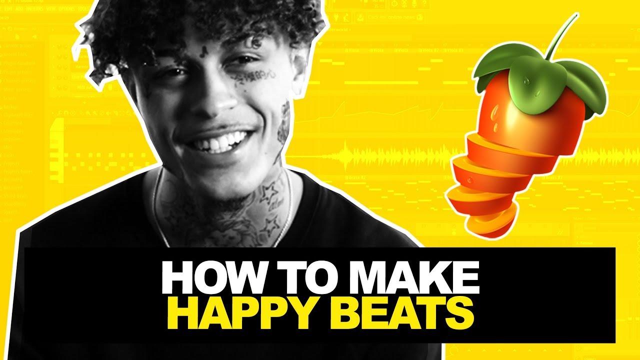 HOW TO MAKE HAPPY BEATS 2   FL Studio Tutorial