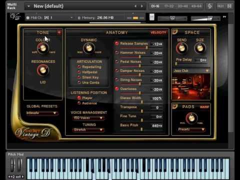Best Service Galaxy Pianos Vintage D Kontakt Youtube