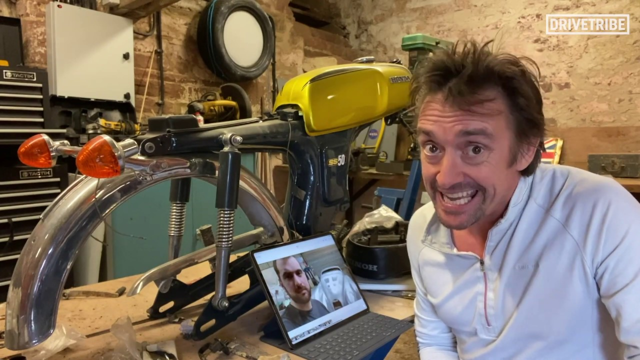 Richard Hammond gives us an update on his lockdown projects