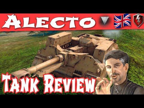 WOT Blitz - Alecto Tank Review - British Tier 4 Tank Destroyer || World Of Tanks Blitz ||