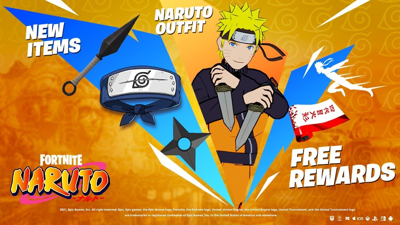 Download FORTNITE NARUTO UPDATE