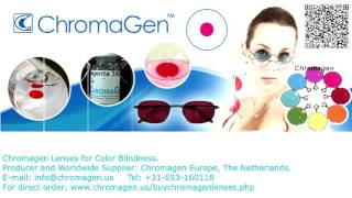 Chromagen Lenses for Color Blindness - how to test and buy