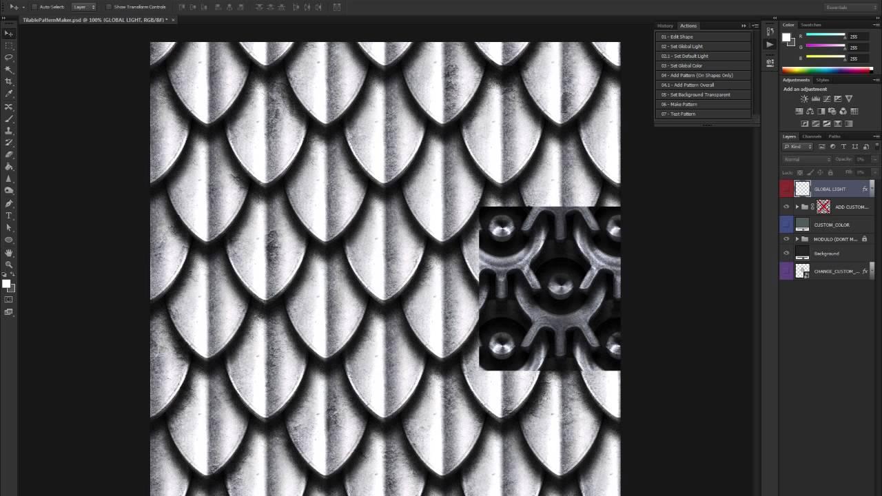 Tileable Pattern Maker