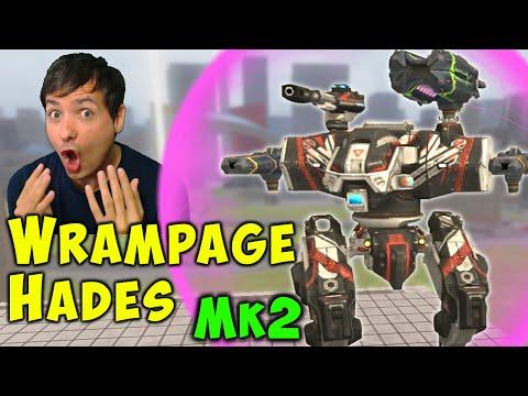 Brutal RAMPAGE HADES Mk2 Killing It! War Robots Gameplay WR