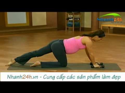 Bài tập thể dục cho bà bầu, tập thể dục cho người mang thai 3 - Nhanh24h.vn