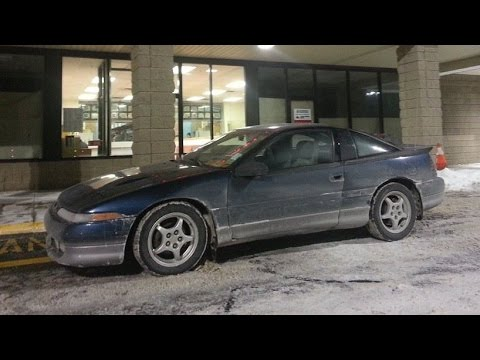1991 Eagle Talon TSi  DSMLink V3 2 Step  Launch Control  1G DSM 4G63 HX35