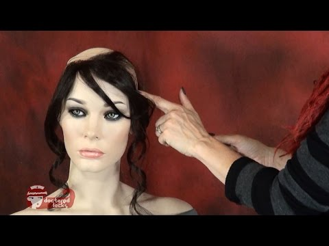 Create A Hairline Hair-Piece From a Lace Front Wig