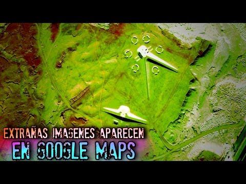 EXTRAÑAS IMAGENES APARECEN EN GOOGLE MAPS