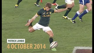 Rugby Championship | Best Springbok Moments Against the All Blacks in South Africa