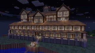 Minecraft Xbox - Massive Mansion - Minecraft Design's World Tour - Part 1