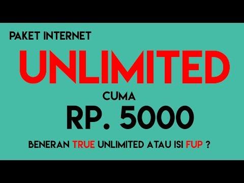 Cara Daftar Paket Internet Unlimited Juli 2017 Cuma Rp. 5000 Go-VLOG #7